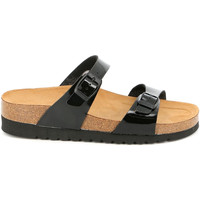 Cipők Női Papucsok Grunland CB2433 Fekete