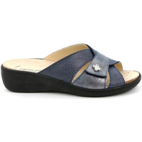 Cipők Női Papucsok Grunland CE0700 Kék