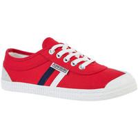 Cipők Férfi Rövid szárú edzőcipők Kawasaki Retro canvas Piros