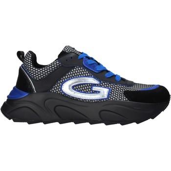 Cipők Férfi Rövid szárú edzőcipők Alberto Guardiani AGM003601 Fekete