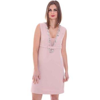 Ruhák Női Rövid ruhák Nenette 26BB-AIRINA Rózsaszín