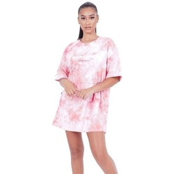 Ruhák Női Rövid ruhák Sixth June Robe femme  Tie and dye rose