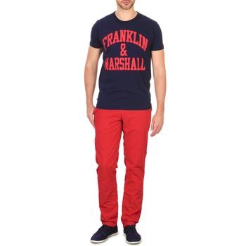 Ruhák Férfi Chino nadrágok / Carrot nadrágok Franklin & Marshall GLADSTONE Piros