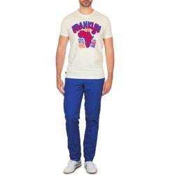 Ruhák Férfi Chino nadrágok / Carrot nadrágok Franklin & Marshall GLADSTONE Kék