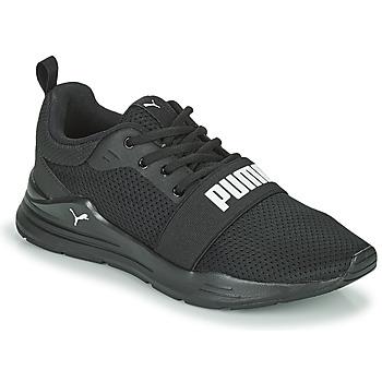 Cipők Gyerek Rövid szárú edzőcipők Puma WIRED JR Fekete