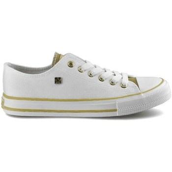 Cipők Női Rövid szárú edzőcipők Big Star HH274458 Fehér