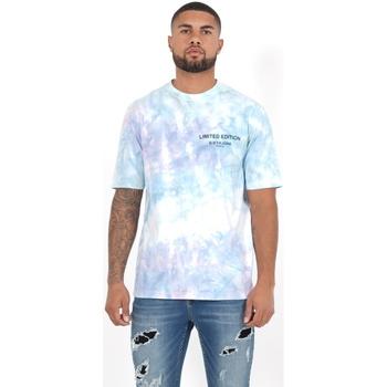Ruhák Férfi Hosszú ujjú galléros pólók Sixth June T-shirt  Custom Tie Dye noir