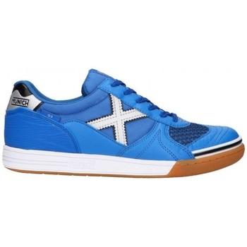 Cipők Férfi Rövid szárú edzőcipők Munich G-3 INDOOR 3111136 Kék