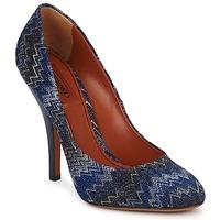Cipők Női Félcipők Missoni VM005 Kék
