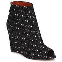 Cipők Női Bokacsizmák Missoni VM014 Fekete