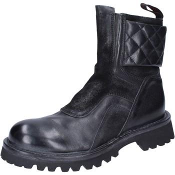 Cipők Női Bokacsizmák Moma BJ595 Fekete