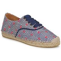 Cipők Női Gyékény talpú cipők Missoni VM045 Kék / Rózsaszín