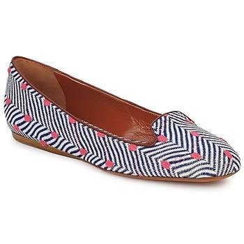 Cipők Női Mokkaszínek Missoni VM036 Kék / Rózsaszín