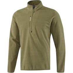 Ruhák Férfi Melegítő kabátok Reebok Sport Fitness Outdoor Fleece Quarter Zip Zöld