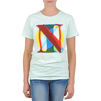 Ruhák Női Rövid ujjú pólók Nixon PACIFIC Zöld