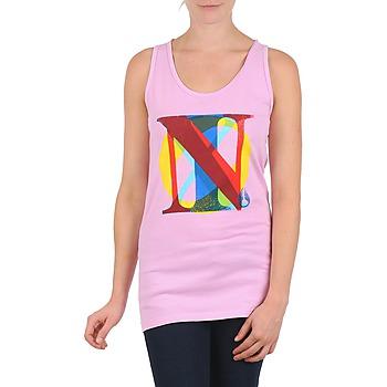 Ruhák Női Trikók / Ujjatlan pólók Nixon PACIFIC TANK Rózsaszín / Sokszínű