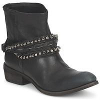Cipők Női Csizmák Strategia GRONI Fekete
