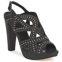 Cipők Női Szandálok / Saruk Strategia CLOUCLOU Fekete