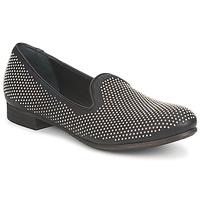 Cipők Női Mokkaszínek Strategia CLOUPI Fekete