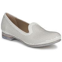 Cipők Női Mokkaszínek Strategia CLOUPI Fehér