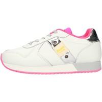 Cipők Lány Rövid szárú edzőcipők Blauer S1LILLI02LEA White