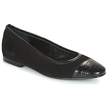 Cipők Női Balerina cipők  JB Martin SUCCES Fekete