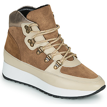 Cipők Női Magas szárú edzőcipők JB Martin COURAGE Barna