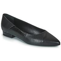 Cipők Női Balerina cipők  JB Martin TENDRE Fekete