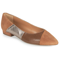 Cipők Női Balerina cipők  JB Martin TENDRE Barna