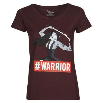 Ruhák Női Rövid ujjú pólók Yurban OHKAV Bordó
