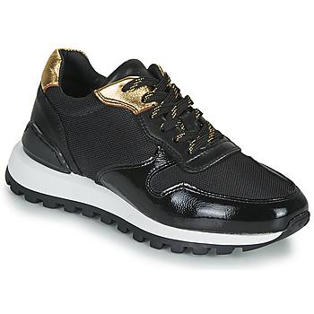 Cipők Női Rövid szárú edzőcipők JB Martin HABILLE Fekete