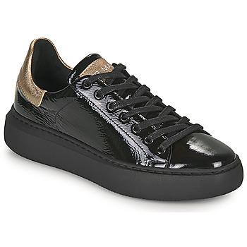 Cipők Női Rövid szárú edzőcipők JB Martin FATALE Fekete