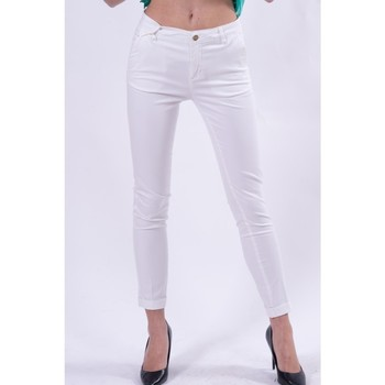 Ruhák Női Chino nadrágok / Carrot nadrágok Fracomina FR21SP3004W40101 fehér