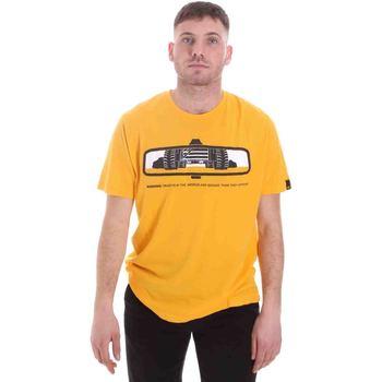 Ruhák Férfi Rövid ujjú pólók Caterpillar 35CC2510234 Sárga