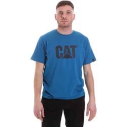 Ruhák Férfi Rövid ujjú pólók Caterpillar 35CC2510150 Kék