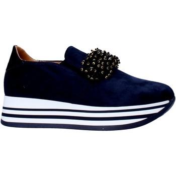 Cipők Női Belebújós cipők Grace Shoes MAR015 Kék