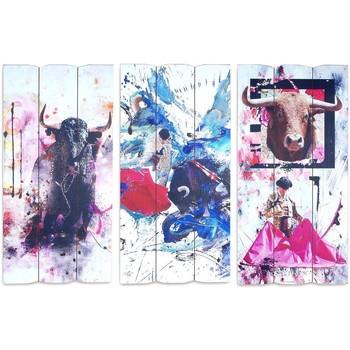 Otthon Képek, vásznak Signes Grimalt Adorno Sigris Szeptemberi 3U Fal Multicolor