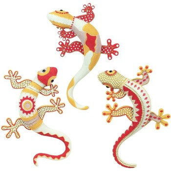 Otthon Szobrok, figurák Signes Grimalt 3 Különböző Lizard Szeptemberi 3U Multicolor