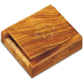 Otthon Kosarak és dobozok Signes Grimalt Kártyázó Doboz 2 Paklival Marrón