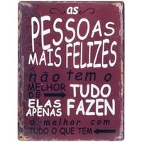 Otthon Képek, vásznak Signes Grimalt Fali Lemez Pessoas Felizes Rojo