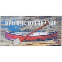 Otthon Képek, vásznak Signes Grimalt Hajófal Lemez Evezővel Multicolor