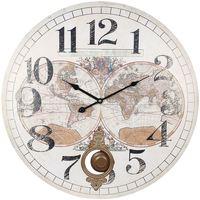 Otthon Órák Signes Grimalt 58. World Clock Blanco