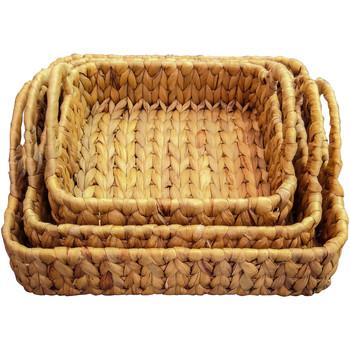 Otthon Kosarak és dobozok Signes Grimalt Táblázat 3U Tálcák Szeptemberben Marrón