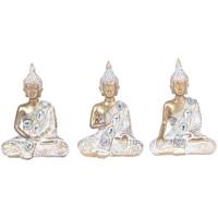 Otthon Szobrok, figurák Signes Grimalt 3 Különböző Buddhák Szeptemberi 3U Blanco