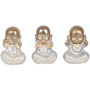 Otthon Szobrok, figurák Signes Grimalt Buddhák Szeptember 3 Units Dorado