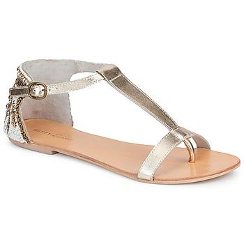 Cipők Női Szandálok / Saruk Betty London MICHOUNE Arany