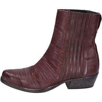 Cipők Női Bokacsizmák Moma BJ679 Barna