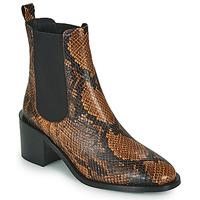 Cipők Női Bokacsizmák JB Martin ADELE Barna