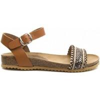 Cipők Női Szandálok / Saruk Purapiel 70182 BROWN