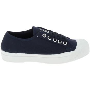 Cipők Női Rövid szárú edzőcipők Bensimon Toile Romy Marine Kék
